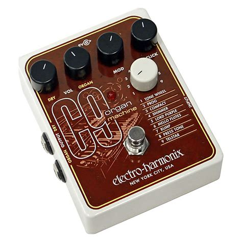 Electro Harmonix C9 Organ Machine electro harmonix c9 organ machine effects pedal reverb
