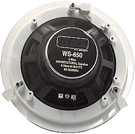 ceiling speaker cover plate ws650d 6 5 inch ceiling speakers ceiling and in wall