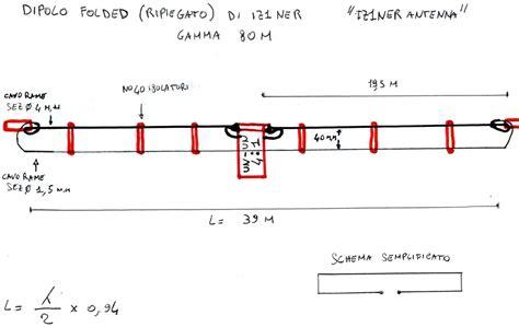 1 80 M Matratze by Dipolo Ripiegato Per Gli 80 M Isoonda Om Radio