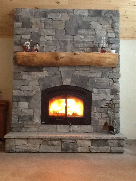 Veneer Fireplace by Cultured Fireplaces The Cultured Stoners