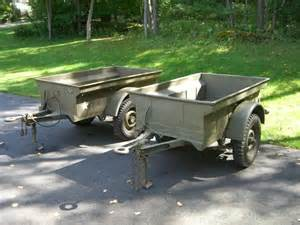 Bantam Jeep Trailer For Sale For Sale Wwii 1 4 Ton Bantam Jeep Trailer G503