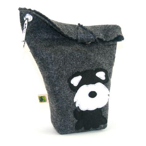 I Doggie Bags by Bag Holder Small Leash Bag Schnauzer