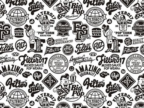 design pattern most used filter017 2004 2010 graphic pattern collection on behance