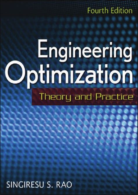 engineering noise theory and practice fourth edition books 65487681 60444264 engineering optimization theory and