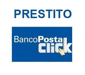 banco poste click prestito bancoposta click casasuper