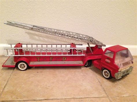 vintage tonka fire truck 1960 s tonka fire truck my antique toy collection
