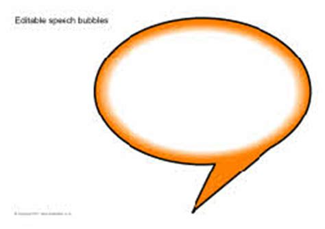 editable speech bubbles sb5224 sparklebox