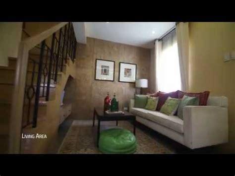 drina 4br house model interior in camella homes