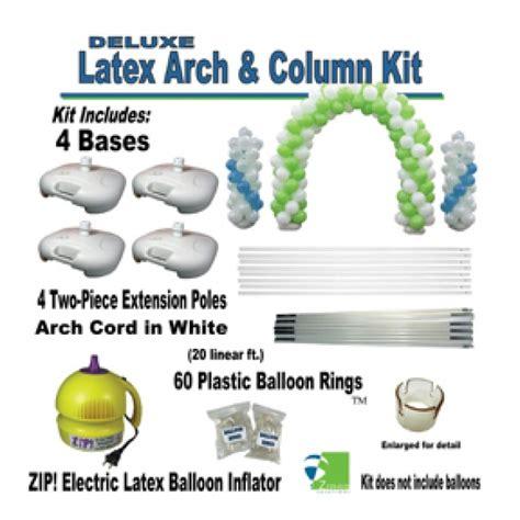 Deluxe latex balloon arch amp column kit