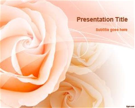 beautiful themes for powerpoint 2013 free download free romantic roses powerpoint template