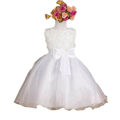 Flower Dress By Twinies Store aliexpress buy 2015 summer new flower princess