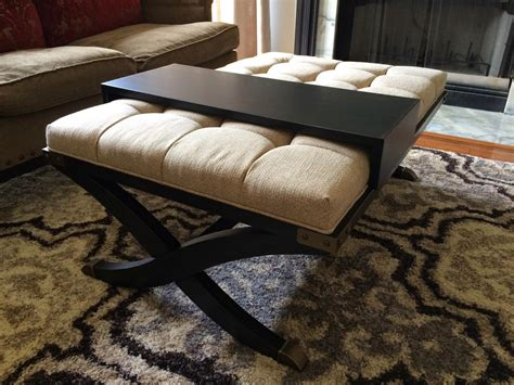 diy upholstered storage ottoman diy storage ottoman coffee table 42 diy ideas for coffee