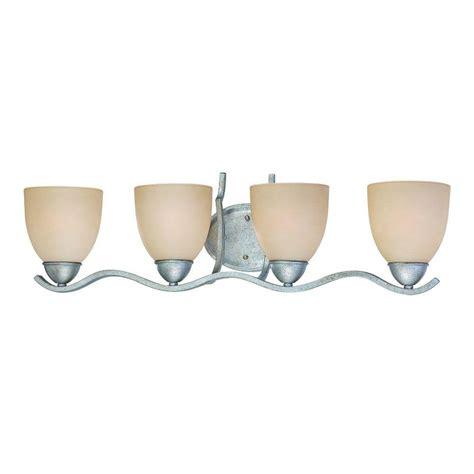 glass shades for bathroom light fixtures thomas lighting harmony 3 light satin pewter bath fixture sl760341 the home depot