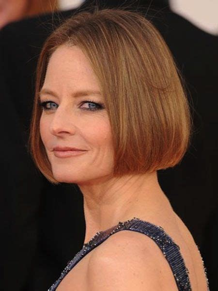 hairstyles for women over 50 with receding chin straight cut chin length do sleek and lovely cut for