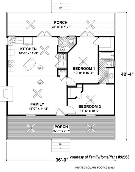Tony House Floor Plan by Small Cabin House Plans Small Cabin Floor Plans Small