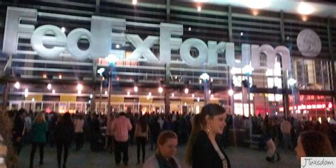 Fedexforum Box Office by Jt Kicks It Up At The Justin Timberlake Concert