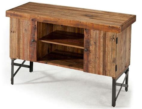 Reclaimed Wood Rustic Sofa Table Accent Living Room Rustic Sofa Table With Storage