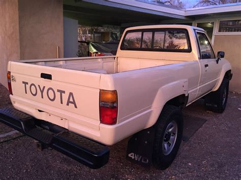 1986 Toyota 4x4 For Sale 1986 Toyota Tacoma 4x4 Truck For Sale