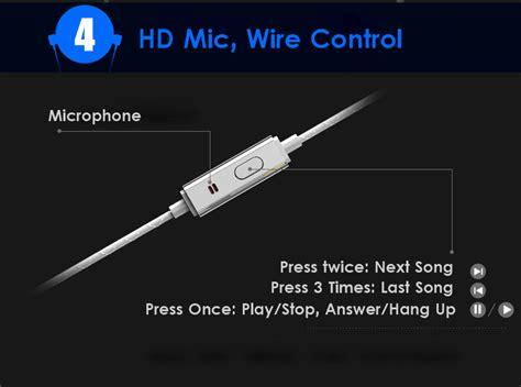 Dijual Kinbas Vp790 Universal Headset Earphone With Microphone Es 91v kinbas vp790 3 5mm wired hifi bass in ear metal earphone with builit in mic