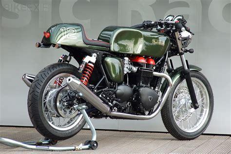 Honda Motorrad Garage L Rrach by Metisse Triumph Bonneville Cafe Racer Kits Sumally サマリー
