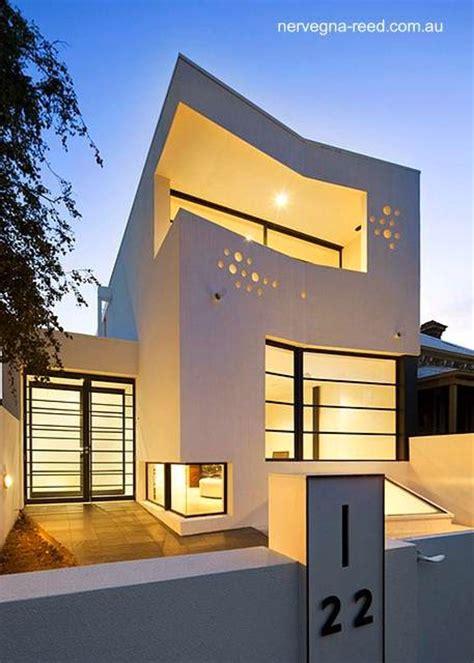 home design architecture blog arquitectura de casas casa urbana de dos plantas y un