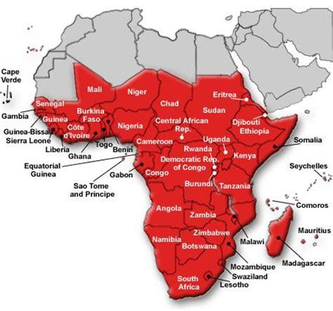 map of sub saharan africa sub saharan africa map canada s economy