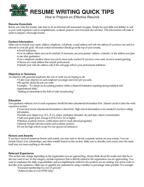 Effective Resume Writing by Tips Effective Resume Writing Loseyourlovewriting A Resume