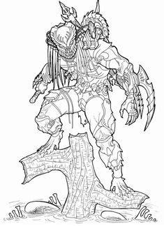 Xenomorph Drawing Alien xenomorph drawing | Animal stuff