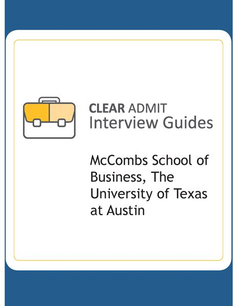How Is It To Get Into Mccombs Mba by Guide Mccombs School Of Business