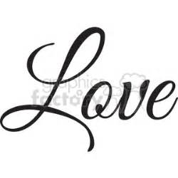 templates for the word love royalty free love vector word 394844 vector clip art image