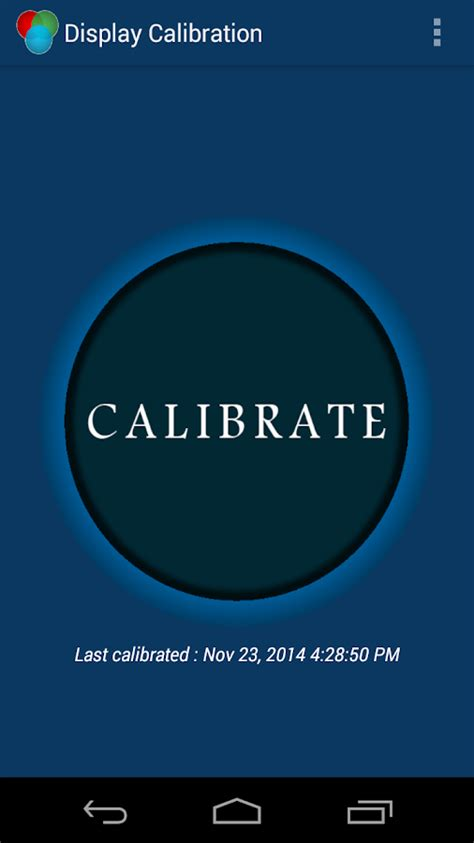 display calibration android apps on play - Touch Recalibrate Apk