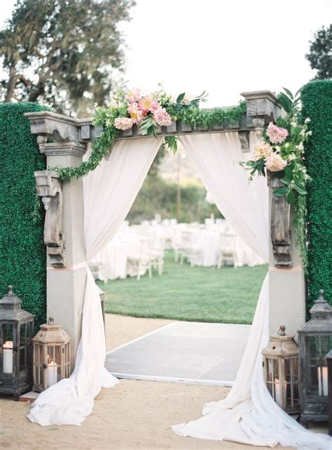 Wedding Aisle Entrance Ideas by 43 Best Outdoor Wedding Entrance Ideas Pink Lover