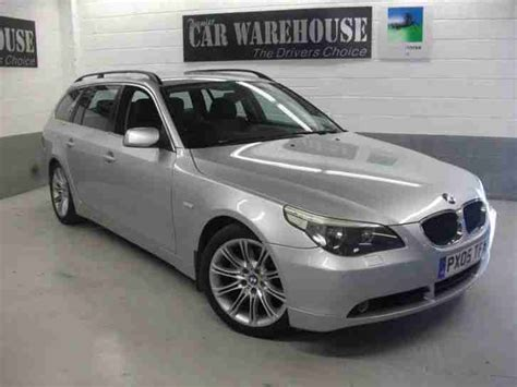 bmw 525 estate bmw 2005 5 series 525d se touring automatic estate car