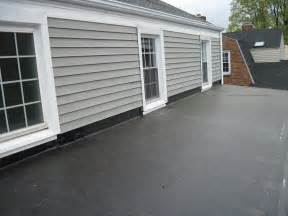 flat roof residential flat roofing anthony construction
