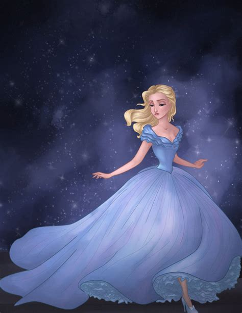 painting for cinderella fan friday cinderella by techgnotic on deviantart