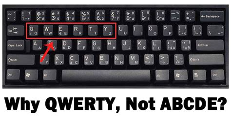 keyboard layout not qwerty why do we have qwerty keyboard not abcde