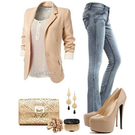 pintrest cute business outfits cute casual friday outfit jeans blazer casualfriday