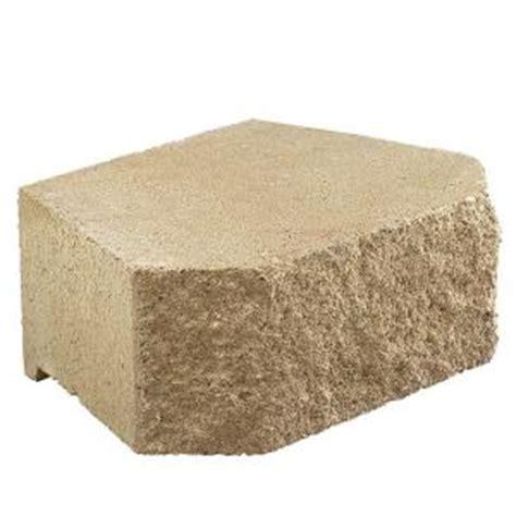 pavestone         tan concrete retaining
