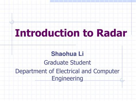 introduction to radar analysis second edition advances in applied mathematics books introduction to radar analysis bassem r mahafza pdf