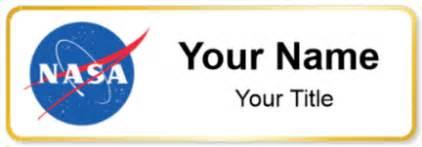 Desk Name Tag Nasa Name Tags Namebadge Com