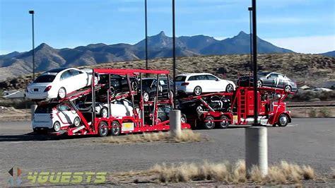 car carrier trucks new cars youtube