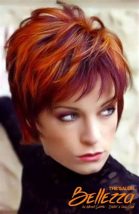 hairstyles an colours burgundy cooper cobrizos pinterest
