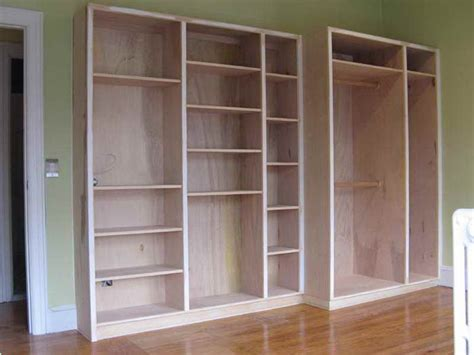 furniture built in bookcase plans molding build corner
