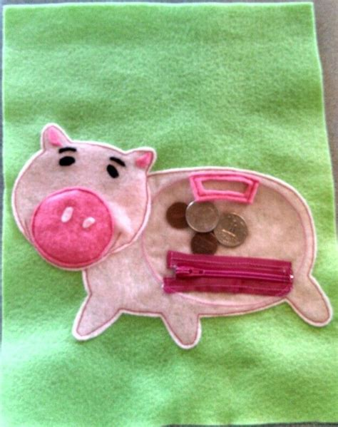 book piggy bank 17 best images about busy book piggy bank money on