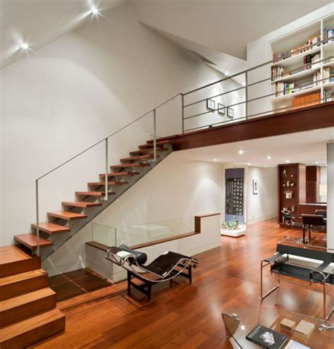 Transforming Kitchen Cabinets by Modern Duplex Conversion In Historic Building