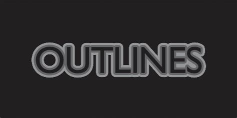 Text Outline Css Explorer by Outlined Letters Css