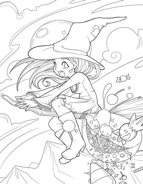 mean witch coloring page 171 best images about monsters zombies witches