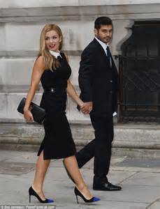 Katherine Jenkins Wows In Black Pencil Dress At Creative