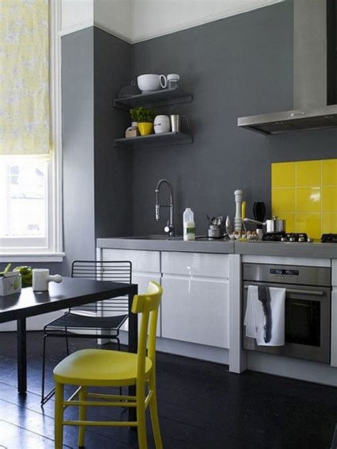 yellow and gray kitchen yellow grey kitchen future home pinterest