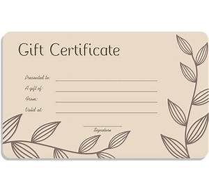 63 gift certificate template free tattoo create resume and gift certificate templates to make your own certificates yadclub Gallery